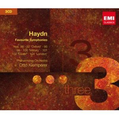 交響曲集 クレンペラー&ニュー・フィルハーモニア管、フィルハーモニア管(3CD)