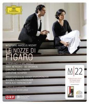 『フィガロの結婚』全曲 グート演出、アーノンクール&ウィーン・フィル、ダルカンジェロ、ネトレプコ、他(2006 ステレオ)