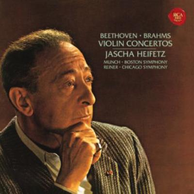 ベートーヴェン:ヴァイオリン協奏曲、ブラームス:ヴァイオリン協奏曲 ハイフェッツ(SHM−CD)