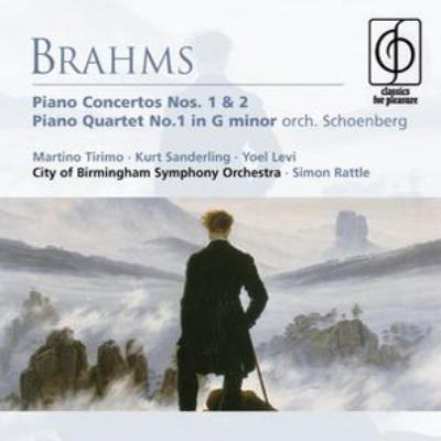 ピアノ協奏曲第1番、ピアノ四重奏曲第1番(管弦楽版)、他 ティリモ、ザンデルリング&ロンドン・フィル、ラトル&バーミンガム市響、他(2CD)
