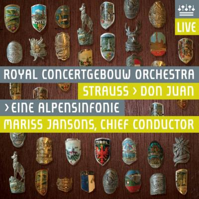 アルプス交響曲、ドン・ファン ヤンソンス&コンセルトヘボウ管弦楽団
