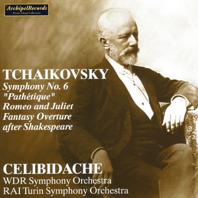 交響曲第6番『悲愴』、ロメオとジュリエット チェリビダッケ&ケルン放送響、RAIトリノ響
