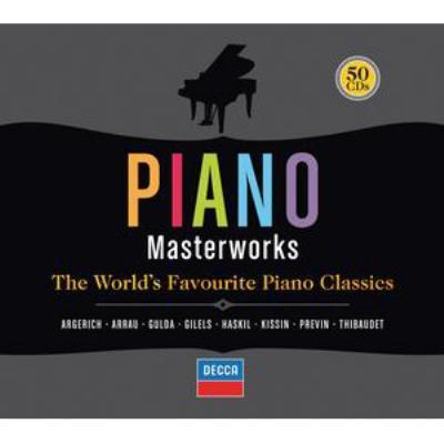 5984c29b5 ピアノ・マスターワークス(50CD) | HMV&BOOKS online - 4780474