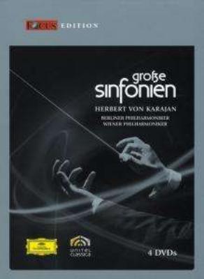 カラヤン/交響曲名曲集 ベルリン・フィル、ウィーン・フィル(4DVD)