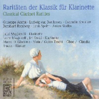 ロンベルク:クラリネット・ソナタ、シュポア:レチタティーヴォとアダージョ、他 マジストレッリ、クレイチー