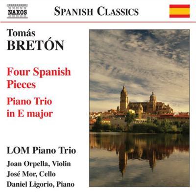ピアノ三重奏曲、4つのスペイン風小品 LOMピアノ・トリオ