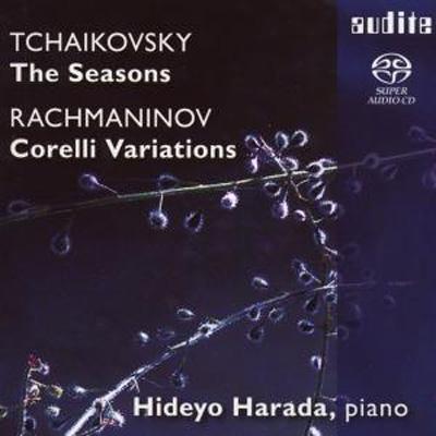 チャイコフスキー:『四季』全曲、ラフマニノフ:コレッリの主題による変奏曲 原田英代
