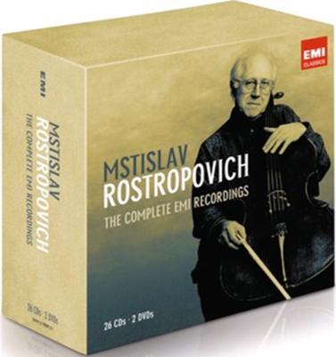 ロストロポーヴィチ/コンプリートEMIレコーディングス−チェロ演奏(26CD+2DVD)