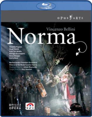 『ノルマ』全曲 ヨーステン演出、レイノルズ&ネーデルラント室内管、パピアン、スミス、他(2005 ステレオ)