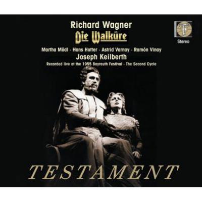 『ワルキューレ』全曲 メードル、ホッター、ヴィナイ、グラインドル、カイルベルト&バイロイト(1955 ステレオ)(4CD)