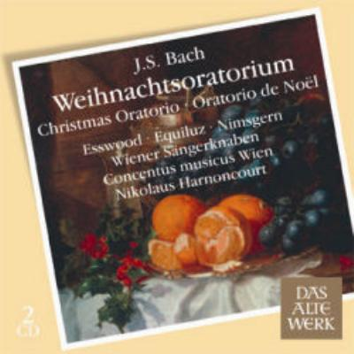 『クリスマス・オラトリオ』全曲 アーノンクール&ウィーン・コンツェントゥス・ムジクス(1973)(2CD)