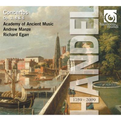 合奏協奏曲集、オルガン協奏曲集 マンゼ、エガー、エンシェント室内管弦楽団(4CD)