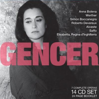 ジェンチェル名演集/アンナ・ボレーナ、ウェルテル、シモン・ボッカネグラ、ロベルト・デヴリュー、アルチェステ、イギリスの女王エリザベス(全曲)(14CD)