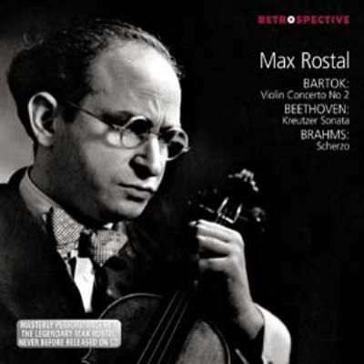 バルトーク:ヴァイオリン協奏曲第2番、ベートーヴェン:『クロイツェル』、他 ロスタル、サージェント&ロンドン響、オズボーン