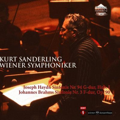 ブラームス:交響曲第3番、ハイドン:『驚愕』 ザンデルリング&ウィーン交響楽団
