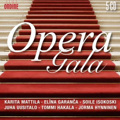 『オペラ・ガラ』 イソコスキ、ガランチャ、マッティラ、ウーシタロ、他(5CD)