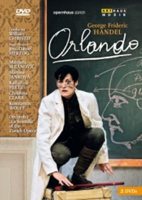 『オルランド』全曲(日本語字幕付) ヘルツォーク演出、クリスティ&チューリヒ歌劇場、ミヤノヴィッチ、ヤンコーヴァ、他(2007 ステレオ)