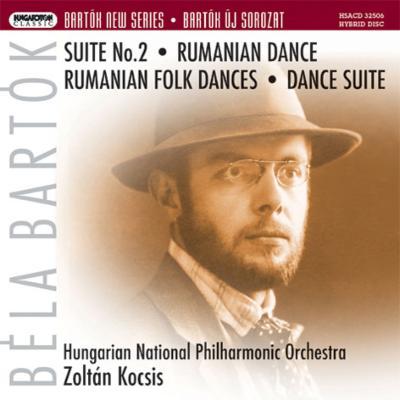 組曲第2番(原典版後半楽章付)、ルーマニア民俗舞曲、ルーマニア舞曲 コチシュ&ハンガリー国立フィル