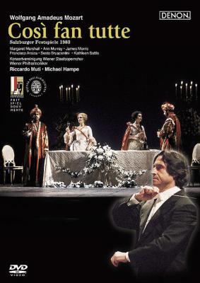 『コシ・ファン・トゥッテ』全曲 ハンペ演出、ムーティ&ウィーン・フィル、マーシャル、アライサ、他(1983 ステレオ)(特別価格限定盤)