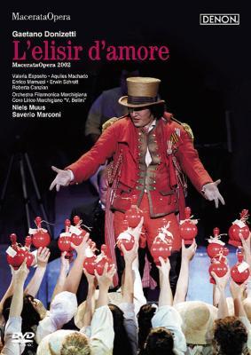 『愛の妙薬』全曲 マルコーニ演出、ムース&マルキジアーナ・フィル、マチャード、エスポジト、他(2002 ステレオ)(特別価格限定盤)