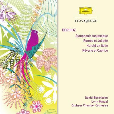 幻想交響曲、ロメオとジュリエット(バレンボイム&パリ管)、イタリアのハロルド(マゼール&ベルリン・フィル)(3CD)
