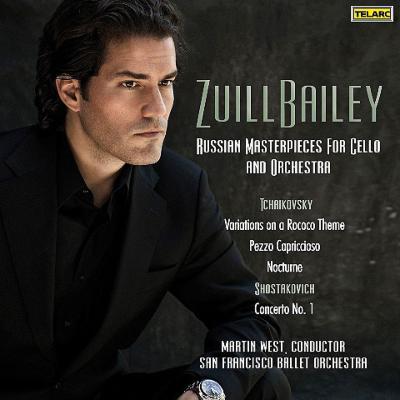 ショスタコーヴィチ:チェロ協奏曲第1番、チャイコフスキー:ロココ変奏曲、他 ベイリー、ウェスト&サンフランシスコ・バレエ管