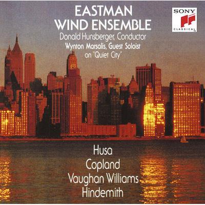 フーサ:プラハのための音楽1968、コープランド:静かな都市、他 イーストマン・ウインド・アンサンブル