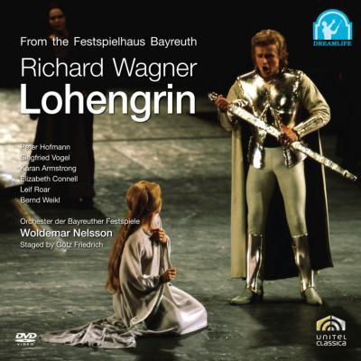 『ローエングリン』全曲 フリードリヒ演出、ネルソン&バイロイト、ホフマン、アームストロング、他(1982 ステレオ)(日本語字幕付)特別価格限定盤