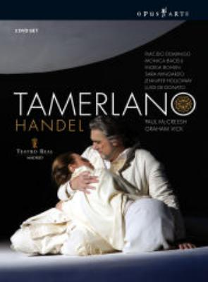 『タメルラーノ』全曲 ヴィック演出、マクリーシュ&マドリッド王立劇場、ドミンゴ、バチェッリ、他(2008 ステレオ)(3DVD)