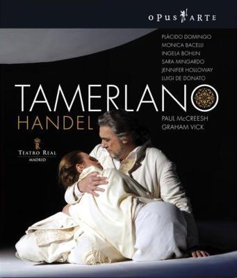 『タメルラーノ』全曲 ヴィック演出、マクリーシュ&マドリッド王立劇場、ドミンゴ、バチェッリ、他(2008 ステレオ)(2枚組)