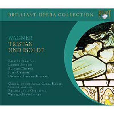 『トリスタンとイゾルデ』全曲 フルトヴェングラー&フィルハーモニア管、フラグスタート、ズートハウス、他(1952 モノラル)(4CD)