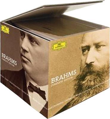 ブラームス:コンプリート・エディション アバド、ベーム、ジュリーニ、カラヤン、アマデウス四重奏団、他(46CD)