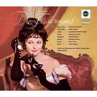 『こうもり』ドイツ語全曲録音&英語抜粋録音 ダノン&ウィーン国立歌劇場(1963 ステレオ)(2CD)