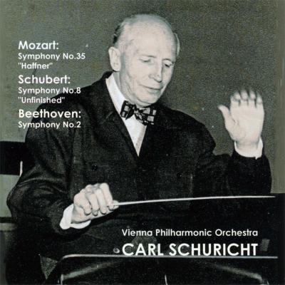 モーツァルト:『ハフナー』、シューベルト:『未完成』、ベートーヴェン:交響曲第2番 シューリヒト&ウィーン・フィル