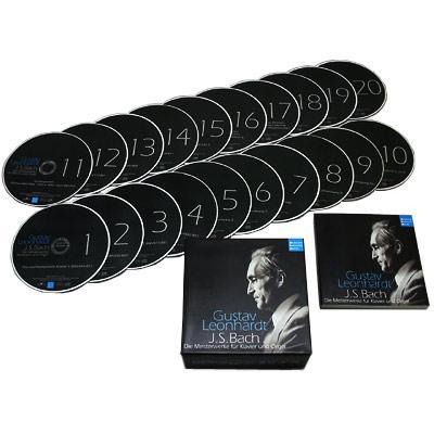 鍵盤作品集成 レオンハルト(20CD)