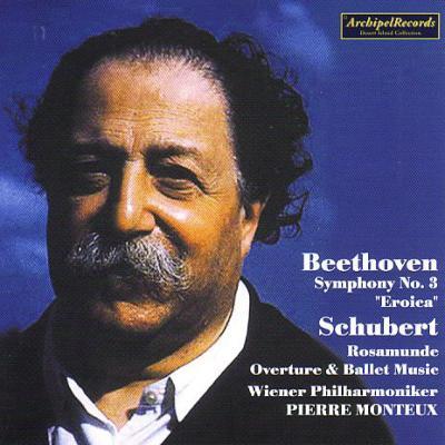 Beethoven Symphony No, 3, Schubert Rosamunde -Highlights : Monteux / Vienna Philharmonic