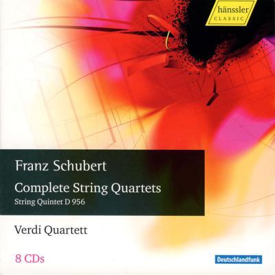 弦楽四重奏曲全集、弦楽五重奏曲、他 ヴェルディ四重奏団(8CD)