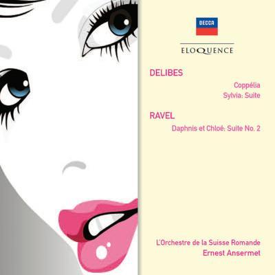 ドリーブ:『コッペリア』、『シルヴィア』、ラヴェル:『ダフニスとクロエ』第2組曲 アンセルメ&スイス・ロマンド管(2CD)