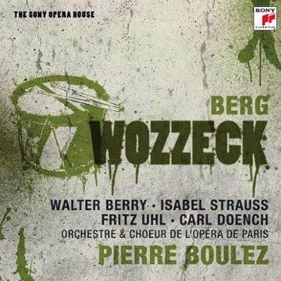 『ヴォツェック』全曲 ブーレーズ&パリ・オペラ座、ベリー、I.シュトラウス、他(1966 ステレオ)(2CD)