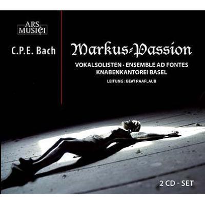 マルコ受難曲 ラーフラウブ&アンサンブル・アド・フォンテ(2CD)