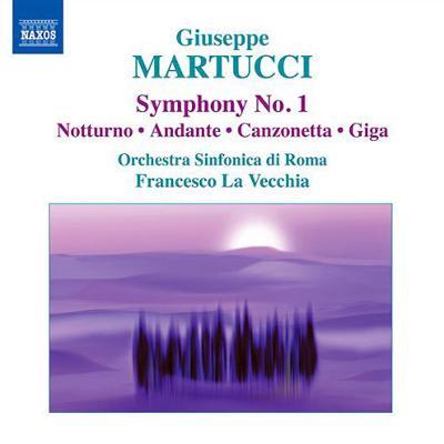 交響曲第1番、ジーガ、カンツォネッタ、アンダンテ、ノットゥルノ ラ・ヴェッキア&ローマ響、ノフェリーニ