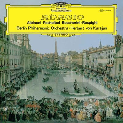 アルビノーニのアダージョ、パッヘルベルのカノン、他 カラヤン&ベルリン・フィル(1969)(限定盤 重量盤LP)