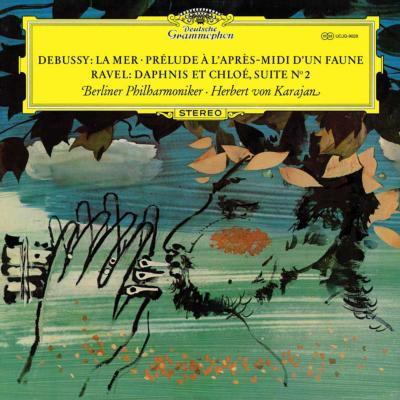 ドビュッシー:海、牧神の午後への前奏曲、ラヴェル:『ダフニスとクロエ』第2組曲 カラヤン&ベルリン・フィル(1964)(限定盤 重量盤LP)