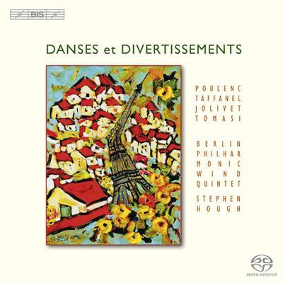 ピアノと管楽のための六重奏曲、他 ベルリン・フィル木管五重奏団、ハフ(p)
