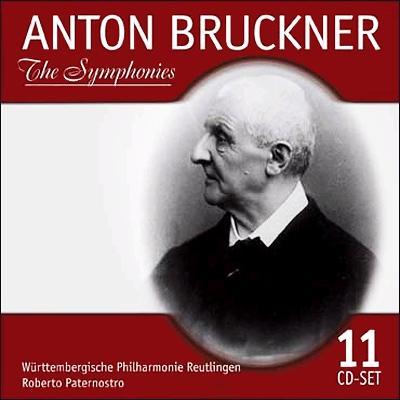 交響曲全集 ロベルト・パーテルノストロ&ヴュルッテンベルク・フィル(11CD)