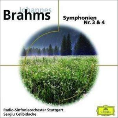 交響曲第3番、第4番 チェリビダッケ&シュトゥットガルト放送交響楽団