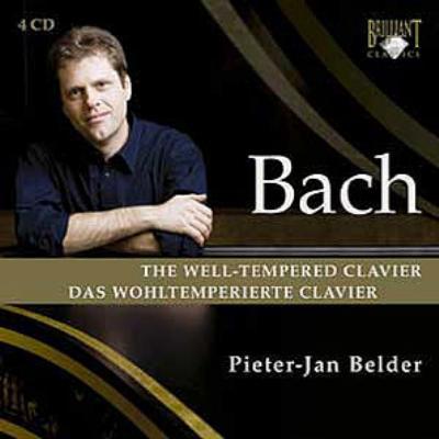 平均律クラヴィーア曲集全曲 ベルダー(4CD)