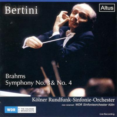 Symphonies Nos, 3, 4, : Bertini / Cologne Radio Symphony Orchestra (1990, 77)
