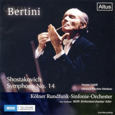Symphony No, 14, : Bertini / Cologne Radio Symphony Orchestra, Cahill, F-Dieskau (1988)