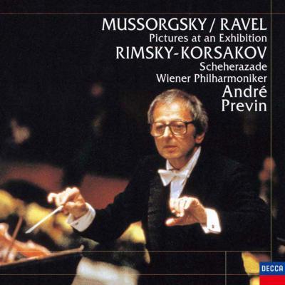 ムソルグスキー:展覧会の絵、リムスキー=コルサコフ:シェエラザード プレヴィン&ウィーン・フィル(限定盤)